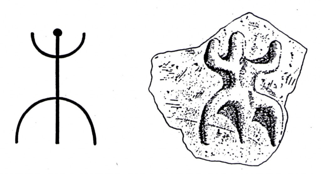 Eruption composite compared with rockart