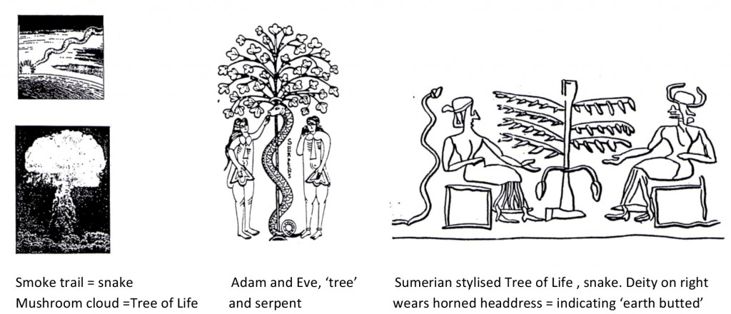 Snake, Tree of Life, Adam and Eve, Sumerian art