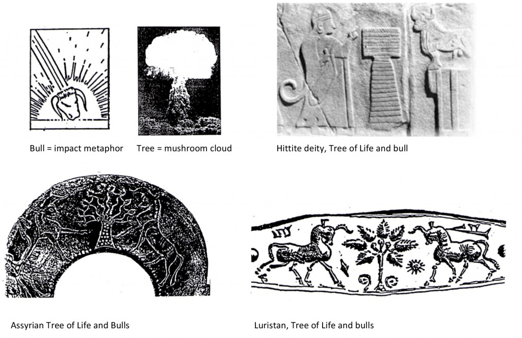 Tree of Life and bulls