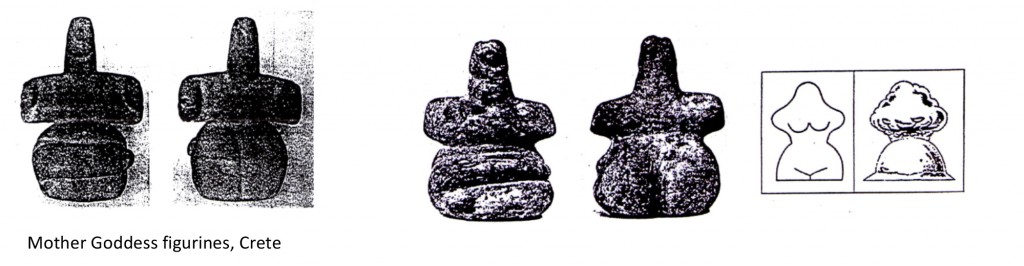 Mother Goddess figurines, Crete