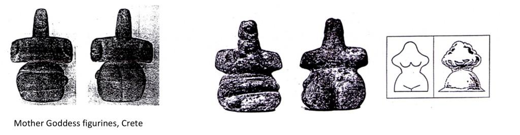 Mother Goddess figurines, Crete